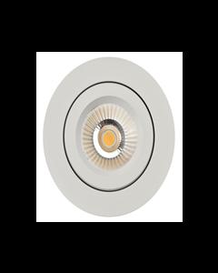 R-LINE VENUS 360 8W 2700K ISOLED DOWNLIGHT MATT HVIT